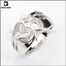 Venta al por mayor anillo de plata esterlina 9.25