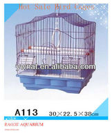 Practical and affordable small wire bird cages, wire folding bird cages for bird