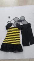 Girls Cartoon Characters Fancy Dress Little Bee Costume For Kids