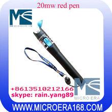 20mw red pen red light 20km fiber optic test pen