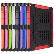 Manfacturer Wholeselling Heavy Duty Hybrid Case Impact Rugged Silicone PC Armor Cover Case For iPad Pro