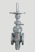 Stainless Steel Flat 3 Way Gate Stem Valve pn16