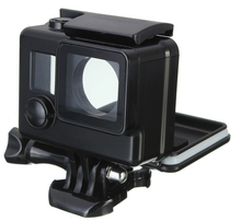 Top Quality for Gopro Accessories Skeleton Waterproof Protective Housing Case + Open Side for FPV for Go Pro Hero 3+ 4