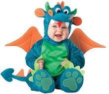 el más reciente 2014 baratos de china al por mayor dinosaurio baby disfraces disfraces de halloween