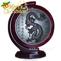 2015 special christmas gift China dragon Artistic dark Tea cake