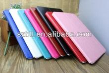Colourful PU leather case/holder for ipad mini