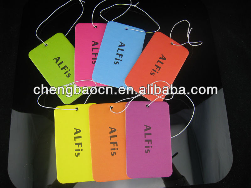 custom paper perfume for promotional gifts
