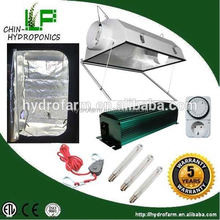 Indoor garden hydroponic 600w hps grow tent complete kit system /1000w double ended grow light kit