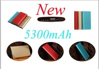 M-503 Portable battery charger backup USB power bank 5300mAh external power charger for smart phone