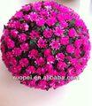 yiwu atacado alta qualidade decorativa bonita flor artificial bolas