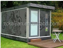2014 new design luxury one bed room house modular prefabricated container hotel