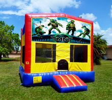 inflatable bouncer combo/inflatable turtles cartoon bounce house-15x15