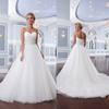2015 New Arrival Ball Gown beading wedding Gowns sexy sweetheart off the shoulder sleeveless Wedding Dress vestido de noiva