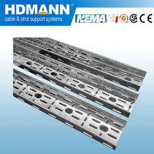 Cable support system galvanized perforated cable tray /China OEM supplier