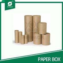 STRONG CUSTOM BROWN/PRINTED CARDBOARD PAPER TUBE