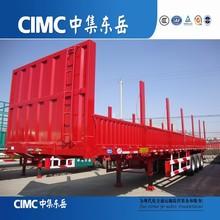 CIMC 3 Axle Side Wall Open With Column Board Trailer