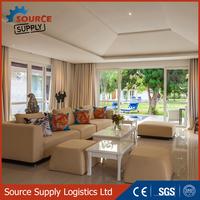 Large capacity loading outdoor furniture rattan wicker sofa / garden furniture sofa set furniture