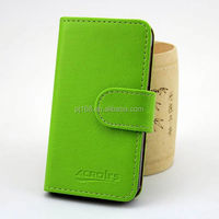 Pure color book style cover for Lenovo P780, wallet card holder case for Lenovo P780