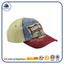 100% cotton embroidery logo wash craft children visor cap factory