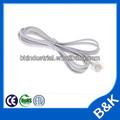 rj11 câble téléphonique rétractable cordon élastique