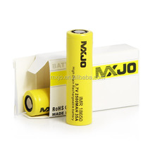 MXJO IMR 18650 High drain IMR batteries mxjo 35a Samsung 25R batteries 18650, LG HE4 18650, LG HE2 18650 battery