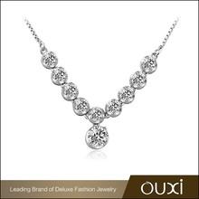 Wholesale jewelry necklace/alloy diamond jewelry/wedding necklace low price