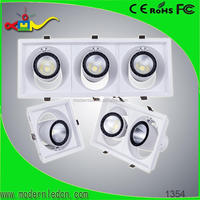 high class commercial led lux down light 15 30 60 degree cob