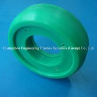 Factory CNC machined pa66 pulley nylon ball bearing wheel