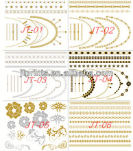 crazy new style Body Decorate flash temp tattoo tattoo supplies