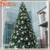 5meter metal frame artificial giant Christmas Tree snowing christmas tree for sale