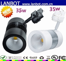 NEW Arrival White/Black/Siliver 30W LED Track Light/led Track Spot Light 30w/COB LED Track Light with CE,RoHS certificate