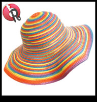 recycle 100% paper straw hat
