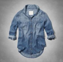 New Arrival Top Quality denim shirt women from direct manufacturer