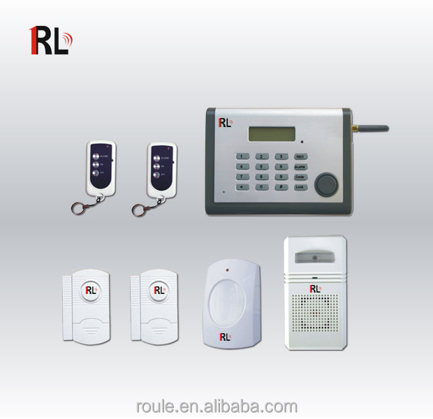 Auto dial security self monitoring wireless alarm system for Self security system