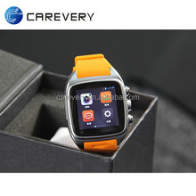 Best price China 3G wifi smart watch mobile phone 5MP camera, touch screen watches video calls led screen