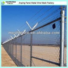 perimeter chain link fence/perimeter fence panels/chain link perimeter fence designs china supplier