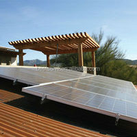 Solar Panel pv with Inverter of 2KW house/5KW 10KW low cost solar panels for home use and inverter