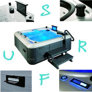Luxo pop up speaker para piscina spa banheira de hidromassagem SF8B069