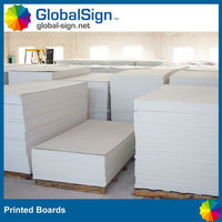 Good quality foam printed board to show your brand