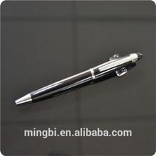 venta al por mayor de alta calidad de metal bolígrafo para la promoción de la muestra libre en guangzhou