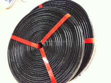 black Fire protect fiberglass sleeving /insulating materials/SGS&UL certified