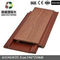 100% recycled green building wood plastic composide wpc wall cladding WPC Wall Panel Sheets