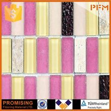 PFM Chinese foshan luxury swimming pool mosaic armour glass screen