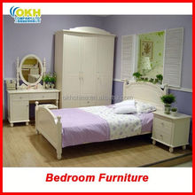 Kids Wood Girls Bedroom Furniture Set
