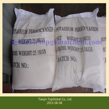 Potassium hexacyanoferrate(II) used in the production of wine and citric acid