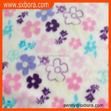 Dye polar fleece fabric for blanket wholesale