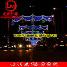 Factory price city hanging 2D led decoration cross street motif light ...