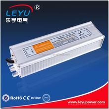 Hot Selling waterproof 60W led power driver with CE RoHs ac dc 220v 12v