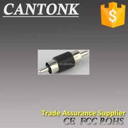 Cantonk Model CK-CON1 Male RCA to Male RCA Adapter BNC Connector