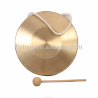dia 16cm chinese copper Gong musical manufacturer percussion instrument copper Gong